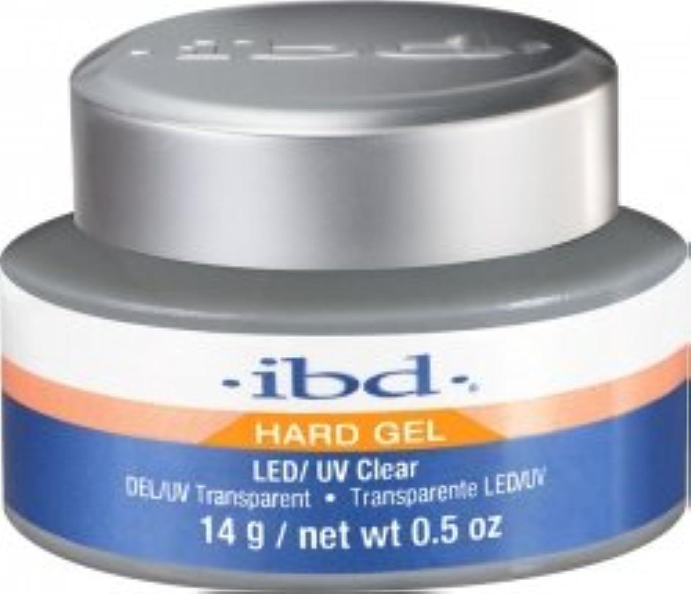 影響クレーター運動IBD LED/UV Clear Gel - .5oz 14g [並行輸入品]