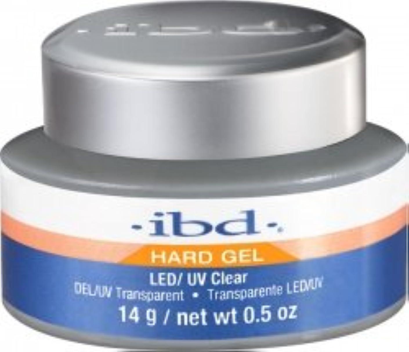 スタジオ意欲代理店IBD LED/UV Clear Gel - .5oz 14g [並行輸入品]