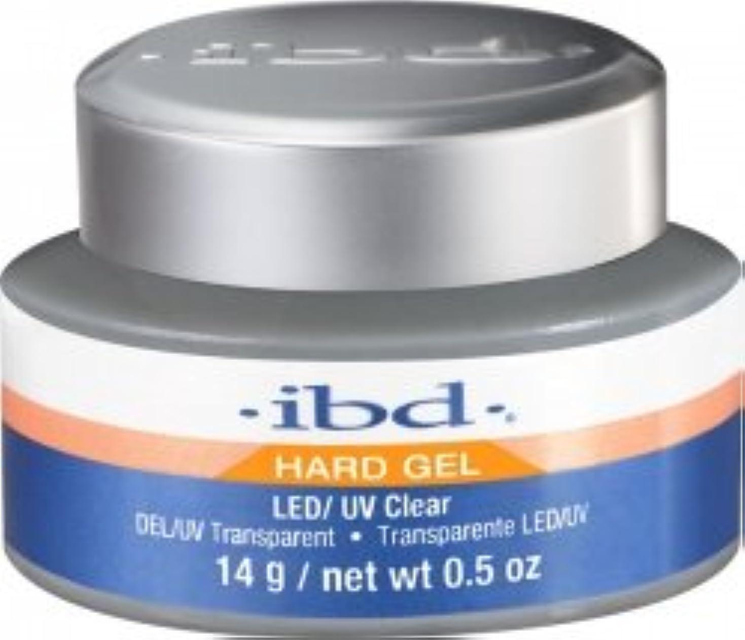 本物の害虫容赦ないIBD LED/UV Clear Gel - .5oz 14g [並行輸入品]