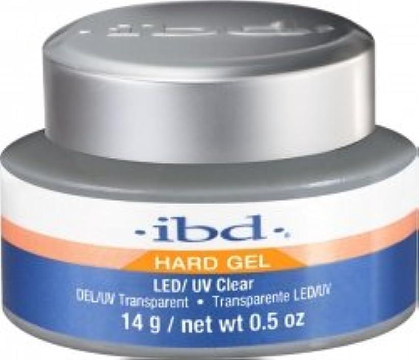 線形メディア硬いIBD LED/UV Clear Gel - .5oz 14g [並行輸入品]