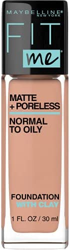 Maybelline Fit Me Matte & Poreless Mattifying Liquid Foundation - Light Honey