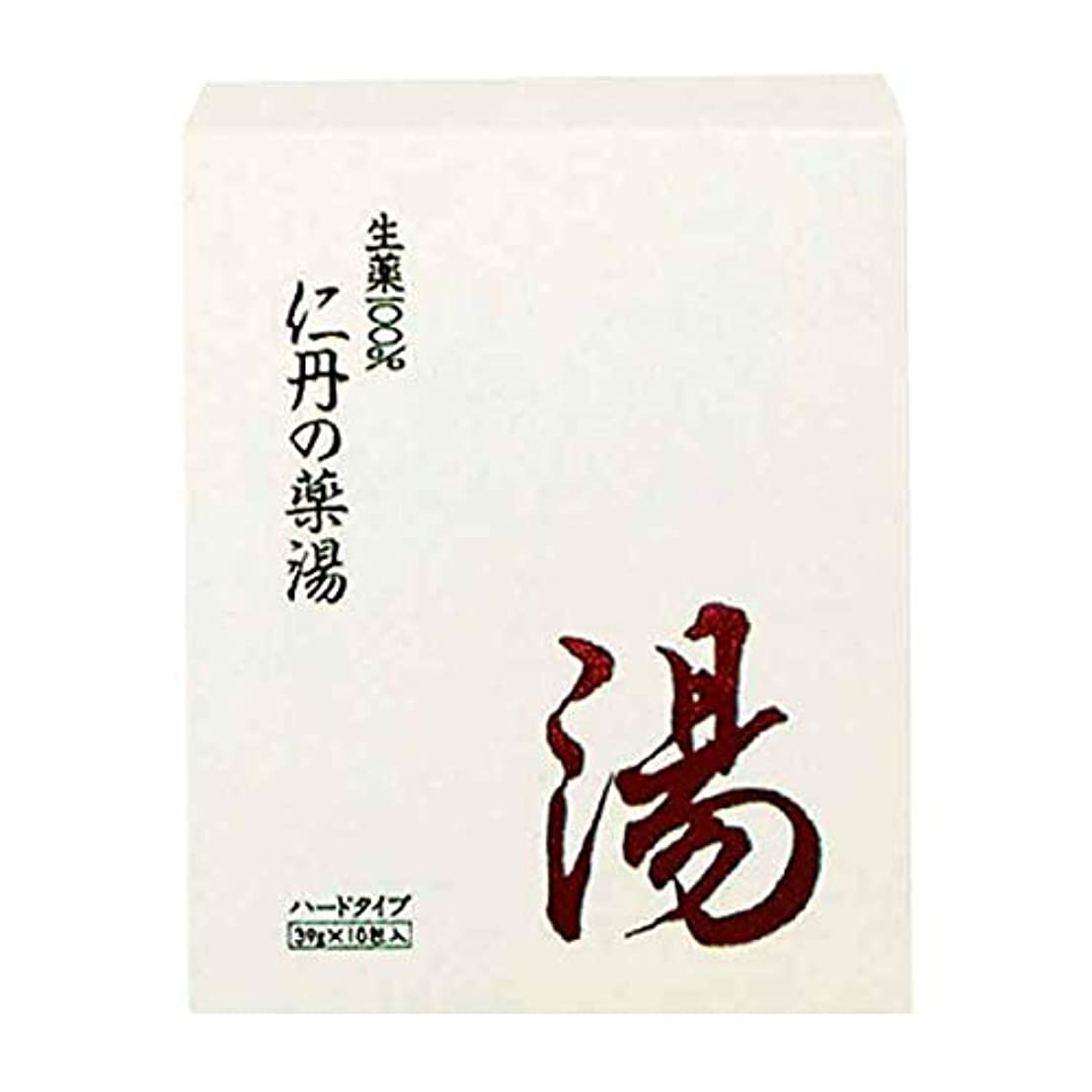 心理的に首結晶森下仁丹 仁丹の薬湯(ハード) 10包 [医薬部外品]