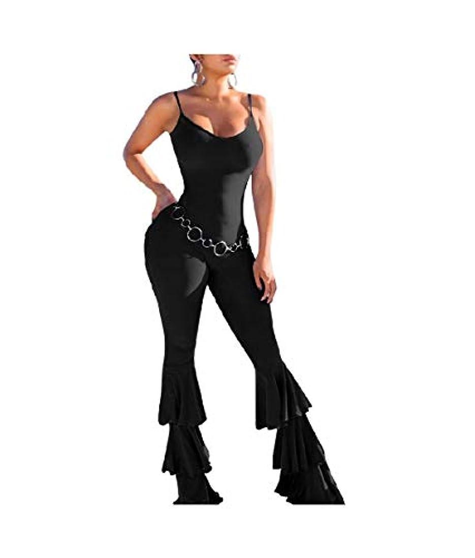 取得するスケジュールできないVITryst Women Flare Sling Nightclub Cami Backless Romper Jumpsuit Pants