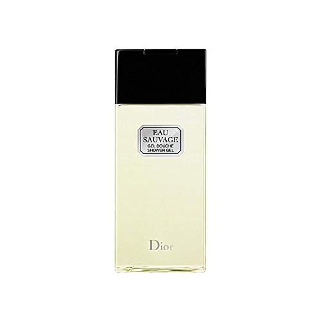 部分的に促す変形[Dior ] ディオールオーソバージュシャワージェル200Ml - Dior Eau Sauvage Shower Gel 200ml [並行輸入品]