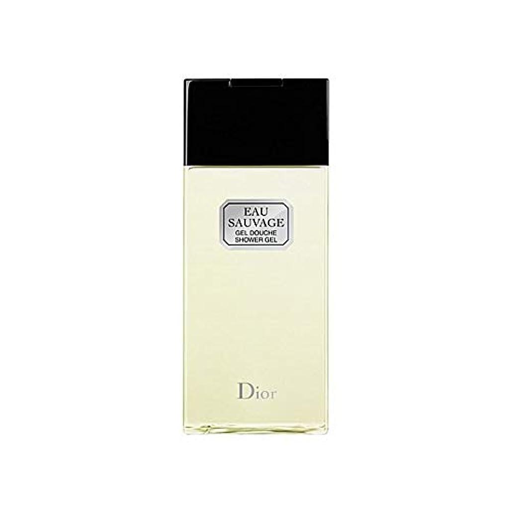 みなすまどろみのある笑い[Dior ] ディオールオーソバージュシャワージェル200Ml - Dior Eau Sauvage Shower Gel 200ml [並行輸入品]