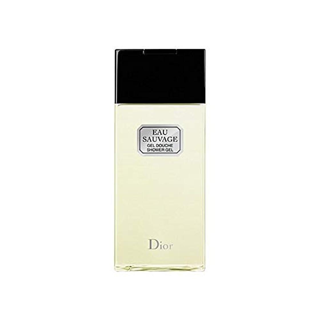 センチメンタルアルカトラズ島熱帯の[Dior ] ディオールオーソバージュシャワージェル200Ml - Dior Eau Sauvage Shower Gel 200ml [並行輸入品]