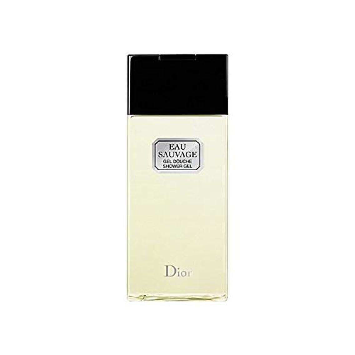 佐賀受信テレビ局[Dior ] ディオールオーソバージュシャワージェル200Ml - Dior Eau Sauvage Shower Gel 200ml [並行輸入品]
