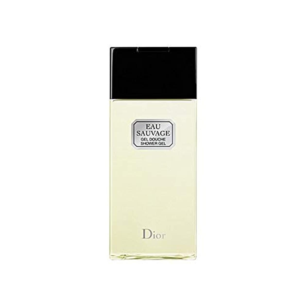 スチュアート島期待感じ[Dior ] ディオールオーソバージュシャワージェル200Ml - Dior Eau Sauvage Shower Gel 200ml [並行輸入品]