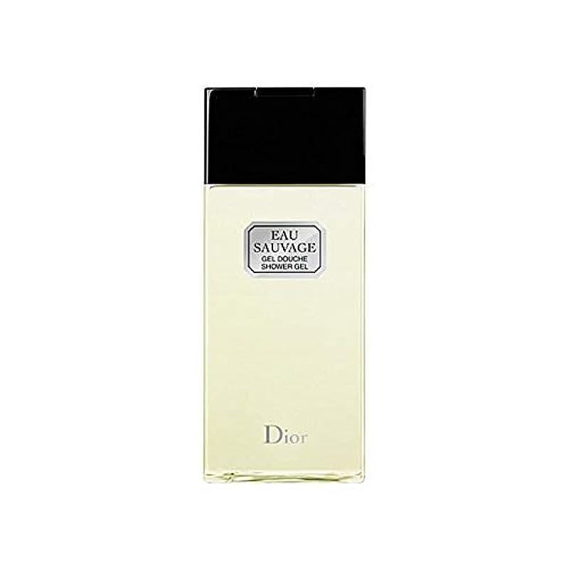 学習者いたずらなセブン[Dior ] ディオールオーソバージュシャワージェル200Ml - Dior Eau Sauvage Shower Gel 200ml [並行輸入品]