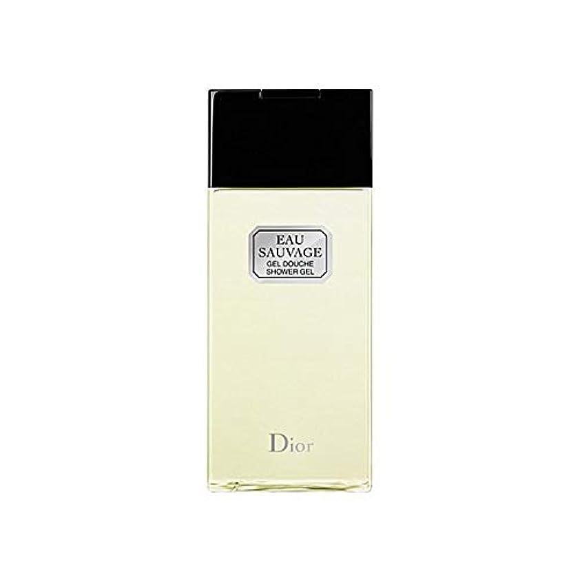 救い焦がす前進[Dior ] ディオールオーソバージュシャワージェル200Ml - Dior Eau Sauvage Shower Gel 200ml [並行輸入品]
