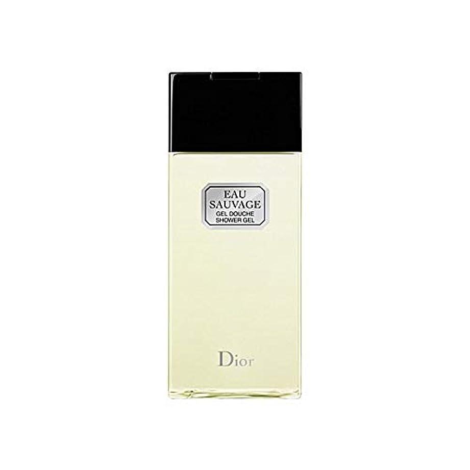 チャネル匹敵します発疹[Dior ] ディオールオーソバージュシャワージェル200Ml - Dior Eau Sauvage Shower Gel 200ml [並行輸入品]