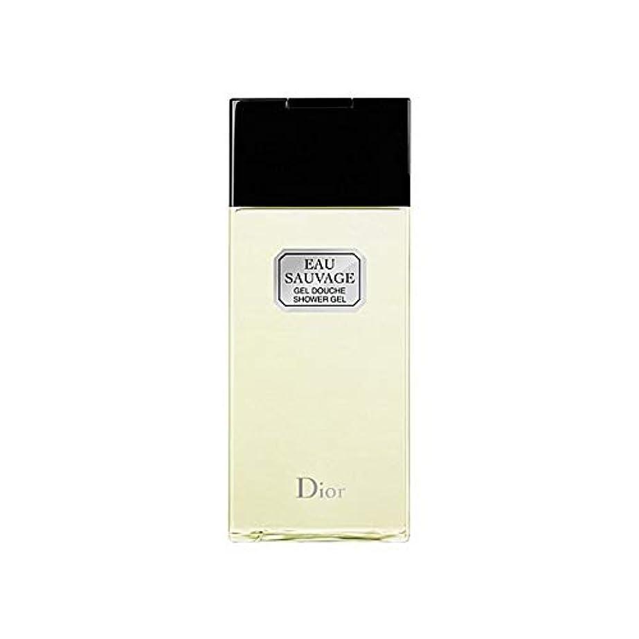 栄光チキン背骨[Dior ] ディオールオーソバージュシャワージェル200Ml - Dior Eau Sauvage Shower Gel 200ml [並行輸入品]
