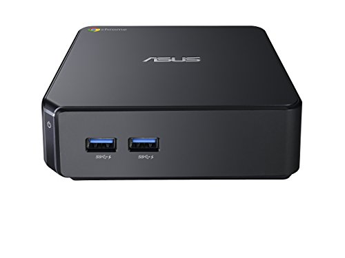 『【日本正規品】 ASUS ChromeBox シリーズ 日本語キーボード付属 ( ChromeOS / Celeron 2955U / 4GB / SSD 16GB / 無線LAN / HDMI ver1.4a DisplayPort1.2a / カードリーダー / ワイヤレスキーボード・マウス / ブラック ) CHROMEBOX-M130U』の9枚目の画像