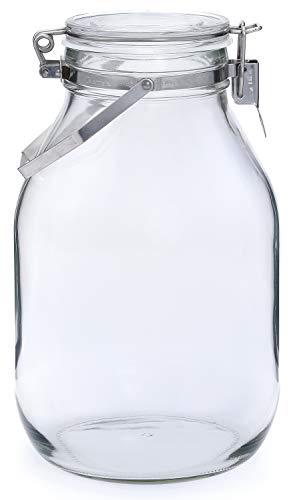セラーメイト保存びん 梅酒・果実酒びん 3L 日本製 取手付 220315