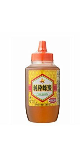 [熊手のはちみつ] 中国産純粋 はちみつ (ポリ 1kg) 100%純粋 ハチミツ 蜂蜜