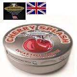 イギリス輸入菓子 SIMPKINS(シンプキン) ミニ缶キャンディー チェリースプラッシュ 40g×10個セット 1005868