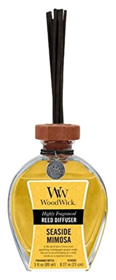 ピストル強要国民投票Wood Wick ウッドウィック リードディフューザーS ミモザ