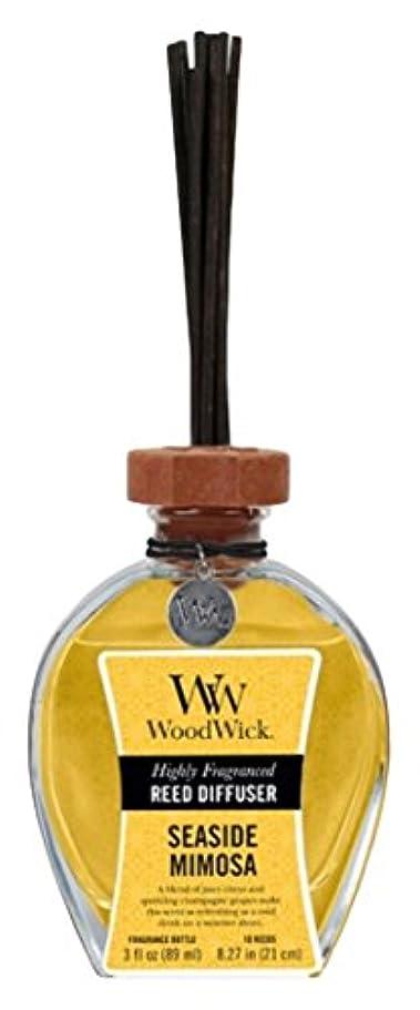 郵便番号説得力のあるコンパニオンWood Wick ウッドウィック リードディフューザーS ミモザ