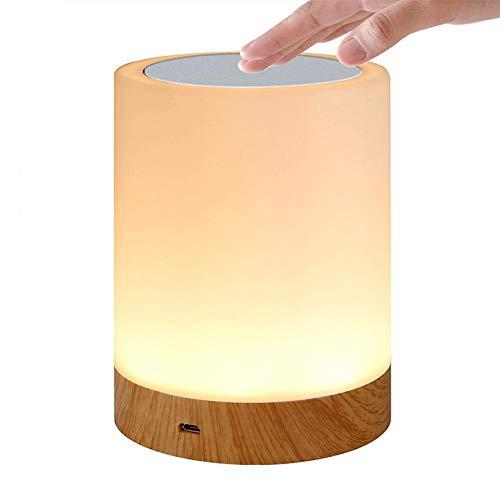 Bostar LEDナイトライト テーブルランプ usb充電...