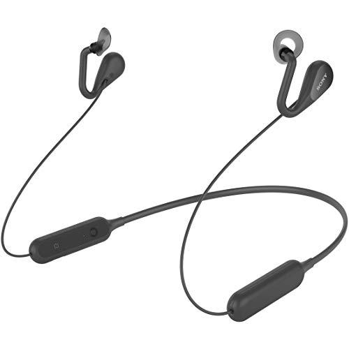 ソニー SONY ワイヤレスオープンイヤーステレオイヤホン SBH82D : Bluetooth/ながら聴き/NFC対応/マイク・操作ボタン付 2019年モデル ブラック SBH82D  B