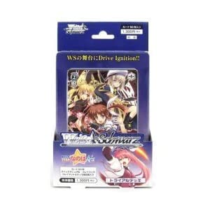 What Weiss Schwarz Trial Deck Magical Girl Lyrical Nanoha A''s (japan import) by Bushiroad [並行輸入品]