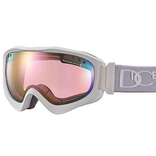 【国産ブランド】DICE(ダイス) スキー スノーボード ゴーグル ジャックポット 偏光 ミラー プレミアムアンチフォグ JP81361MAW