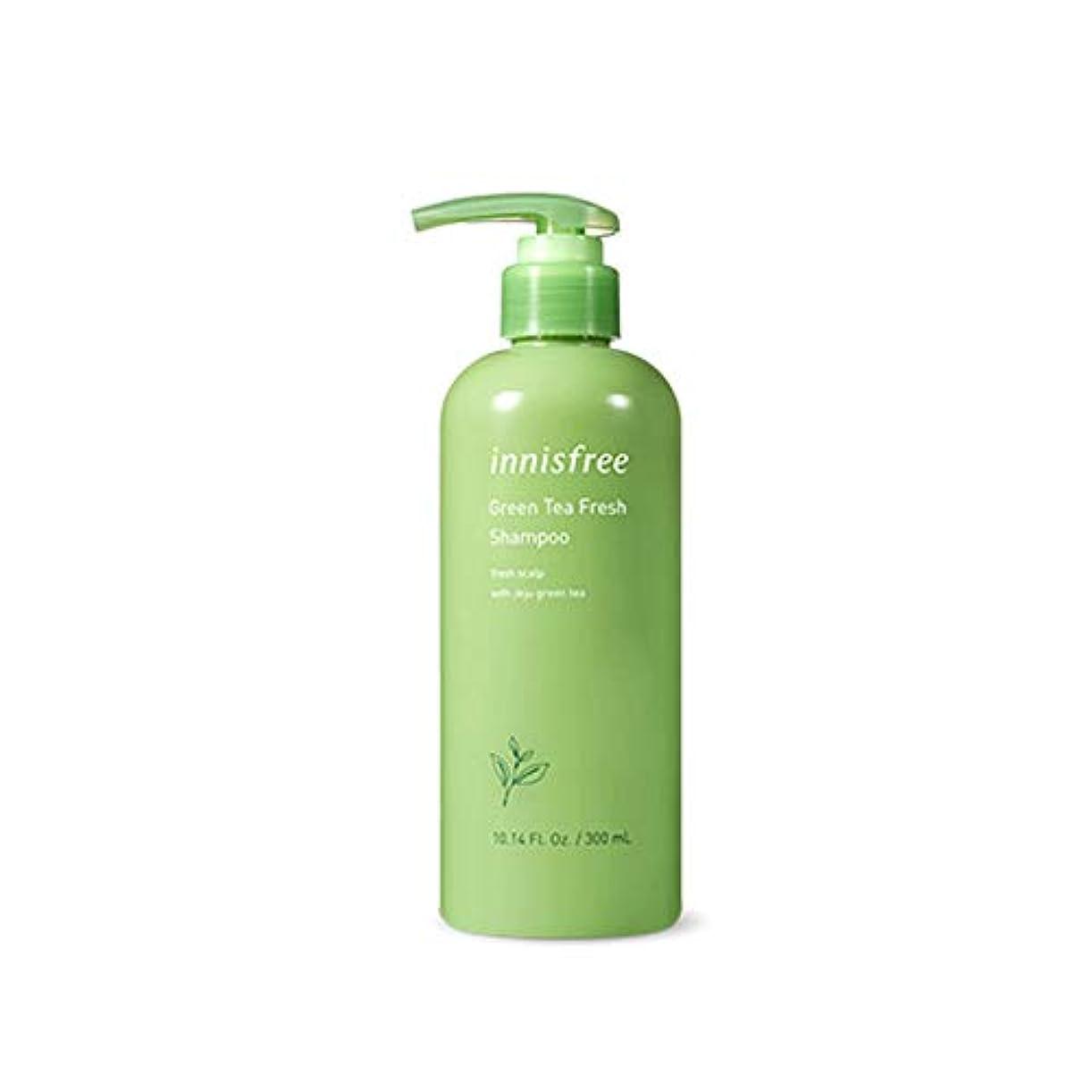 提供された縮れた精巧なイニスフリー Innisfree 緑茶ミントフレッシュシャンプー(300ml) Innisfree Green Tea Mint Fresh Shampoo (300ml) [海外直送品]