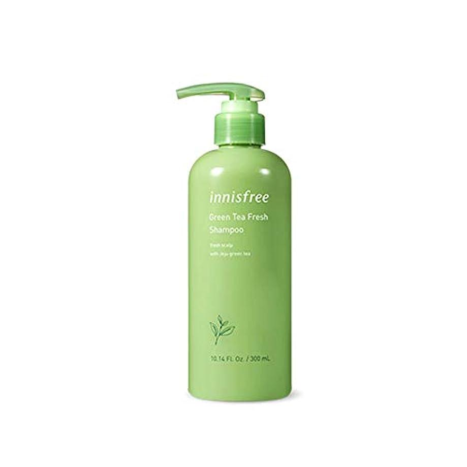 舗装するセラフエクスタシーイニスフリー Innisfree 緑茶ミントフレッシュシャンプー(300ml) Innisfree Green Tea Mint Fresh Shampoo (300ml) [海外直送品]