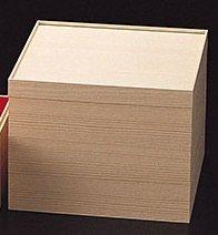 用美 紙重箱・木目調 3段 7寸 22359