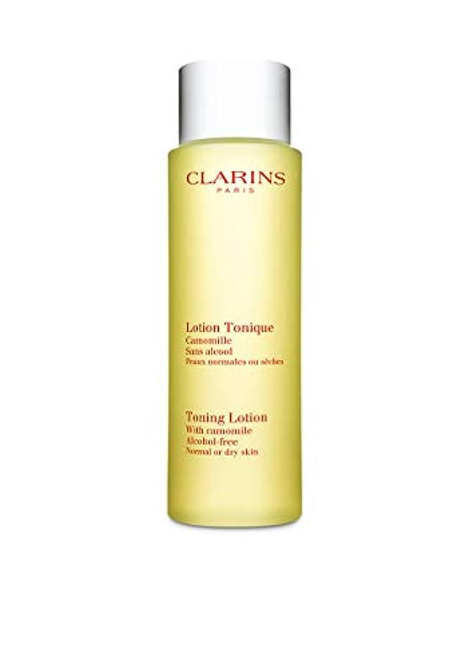 ブレイズ知るさまようClarins Toning Lotion Normal to Dry Skin 200ml