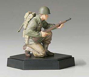 MM フィギュアコレクション 1/35 アメリカ歩兵攻撃チーム 小銃手B 完成 26009