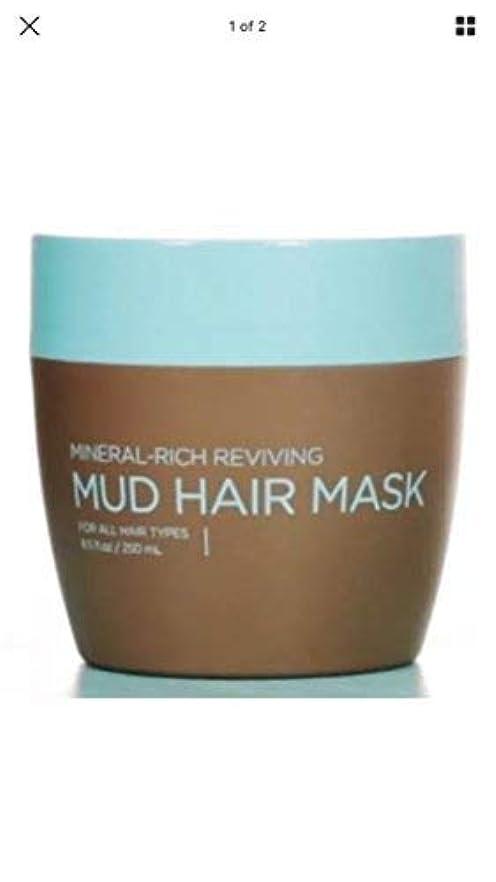 お風呂を持っている効率的多用途SEACRET(シークレット) ヘアー マット マスク MUD HAIR MASK 250ml ヘアーダメージに効果あり