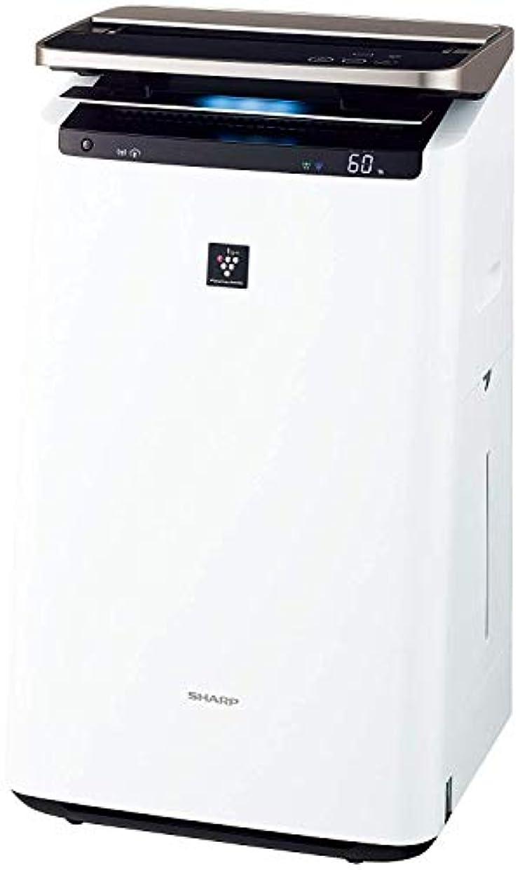 傾向がある割るマインドシャープ 加湿 空気清浄機 プラズマクラスター NEXT(50000) プレミアム 23畳 / 空気清浄 40畳 自動掃除 2018年モデル ホワイト KI-JP100-W