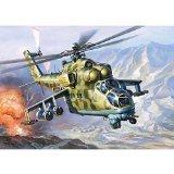 Zvezda 1/144 MI-24V Hind Soviet Attack Helicopter # 7403 by Zvezda [並行輸入品]