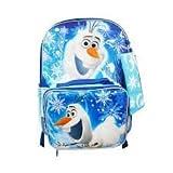 おもちゃ Disney's Frozen Olaf オラフ Backpack & Lunch Bag with Bonus Pencil Case [並行輸入品]