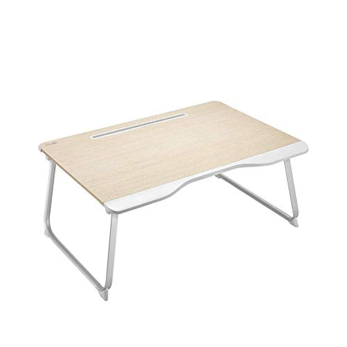 和らげる名詞定期的にL-H-X 折りたたみ式テーブル、ノートパソコンの机学生寮の机の上に座っているベッド折りたたみ式ブラケットライティングデスク小さなテーブル家庭用テーブル子供用出窓の大きな高さのポータブルテーブル