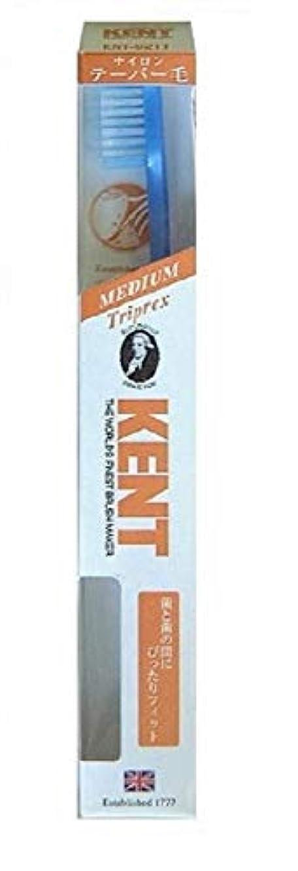 消費する道路を作るプロセス白雪姫KENT(ケント) トリプレックス ナイロン歯ブラシ ふつう KNT9211 パールブルー