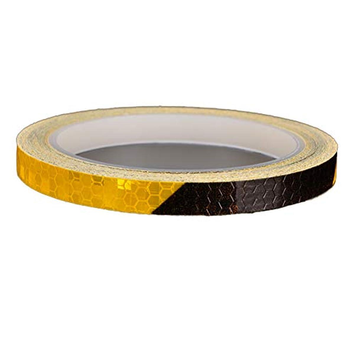 存在インディカ虚弱Xiton 自動車用 安全な材料 安全警告 テープ ステッカーテープ 自転車 蛍光 防水 装飾 安全 かっこいい 8m