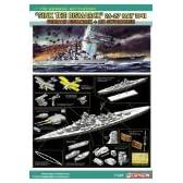 ドラゴン 1/700 ドイツ戦艦ビスマルク + RNソードフイッシュ雷撃機 1941年5月26-27日