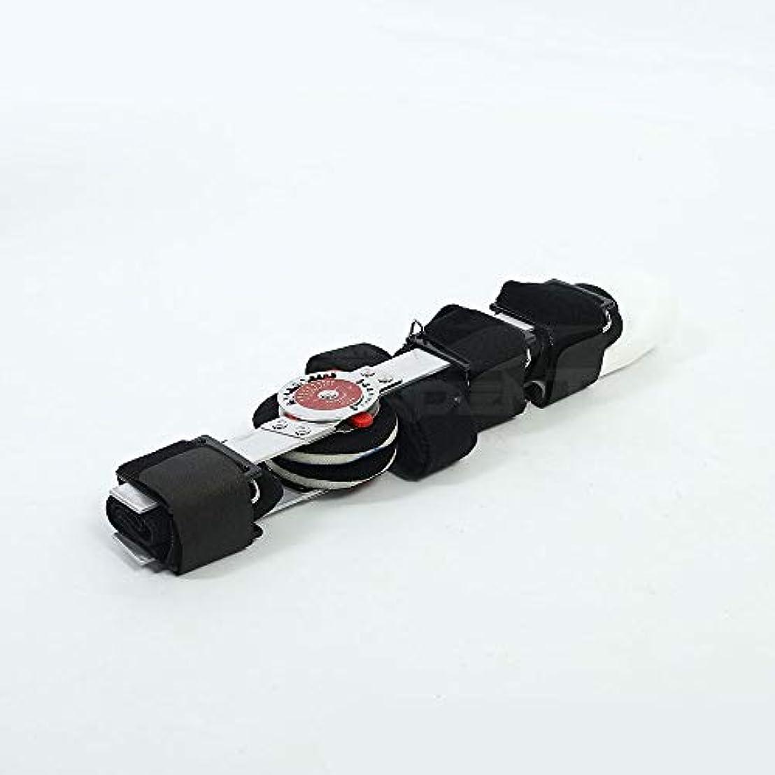 通路行き当たりばったりジョグZYL-YL アジャスタブル肘関節リハビリテーションアームスプリント拡張上肢サポート脳卒中脳片麻痺のリハビリテーション (Design : Right)