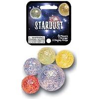 Stardust Game Net Set 25 Piece Glass Mega Marbles