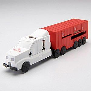 トラックUSBハブ&カードリーダー