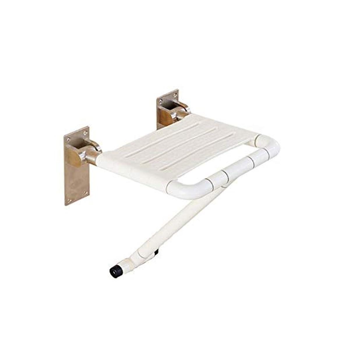 壁に取り付けられた折るシャワーの座席腰掛けの移動性の援助