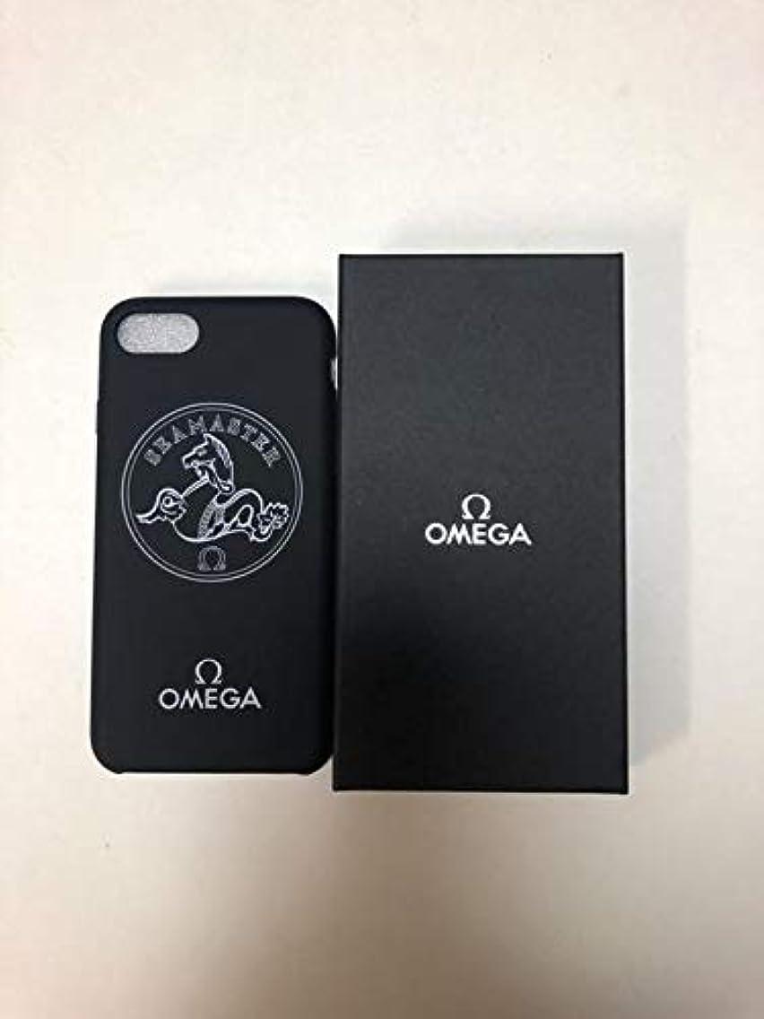 シール例外きらめくOMEGA オメガ iPhone7 iPhone8 ケース ノベルティ