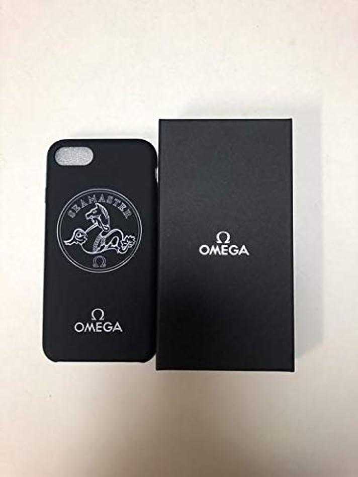 めまい定期的学んだOMEGA オメガ iPhone7 iPhone8 ケース ノベルティ