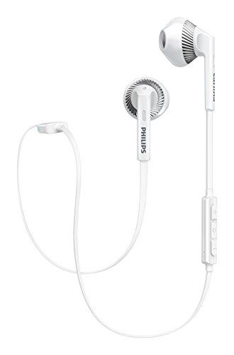 PHILIPS SHB5250 Bluetoothイヤホン インナーイヤー ホワイト SHB5250WT 【国内正規品】