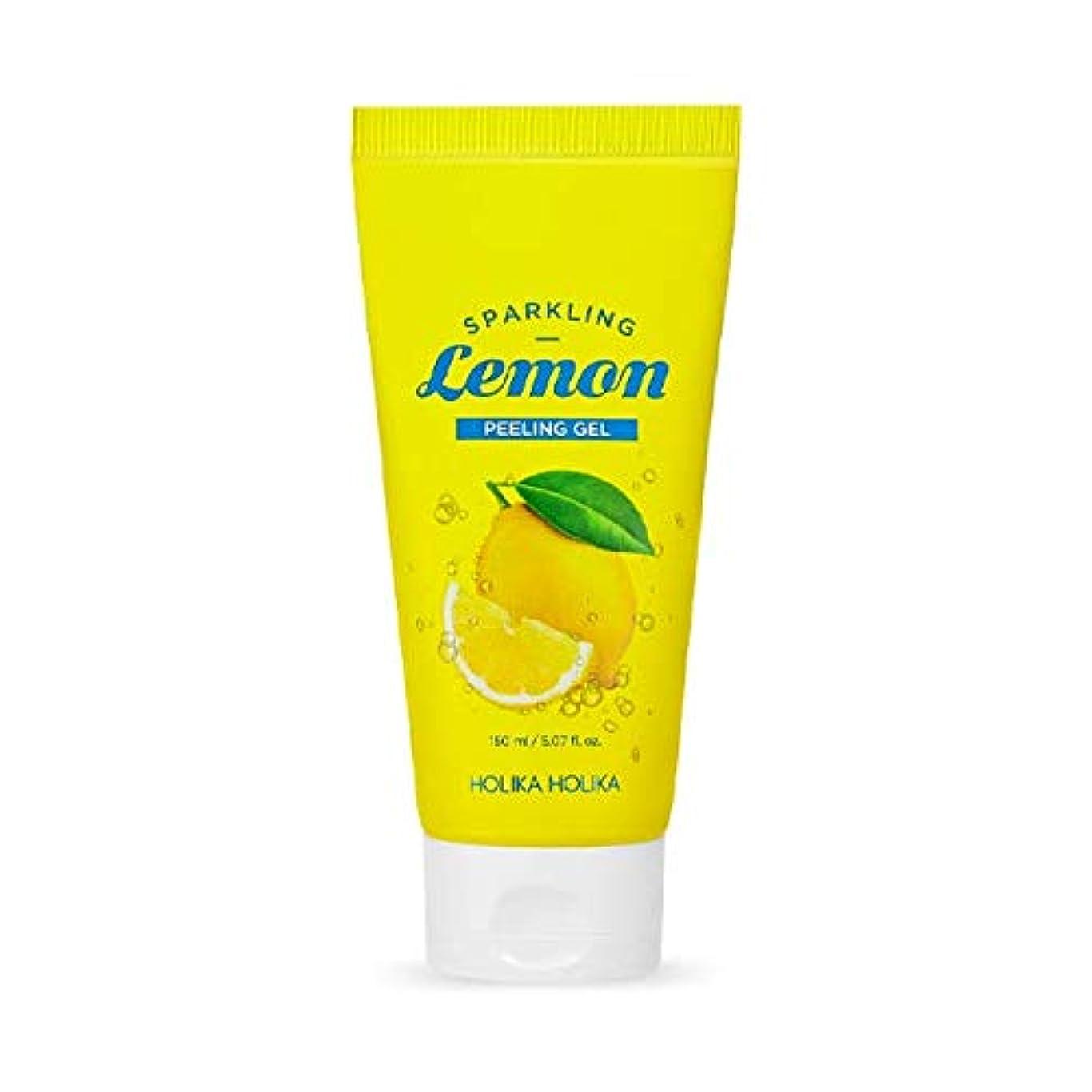 鏡垂直のどホリカホリカ 炭酸レモンピーリングジェル/HOLIKA Sparkling Lemon Peeling Gel 150ml 韓国コスメ [並行輸入品]