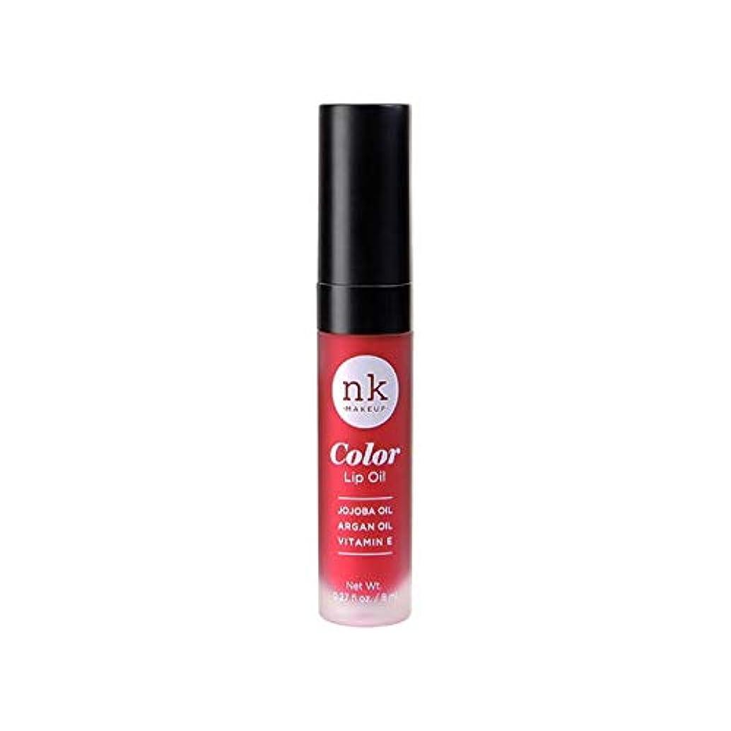 信じられない脱獄二度NICKA K Color Lip Oil - Poppy (並行輸入品)