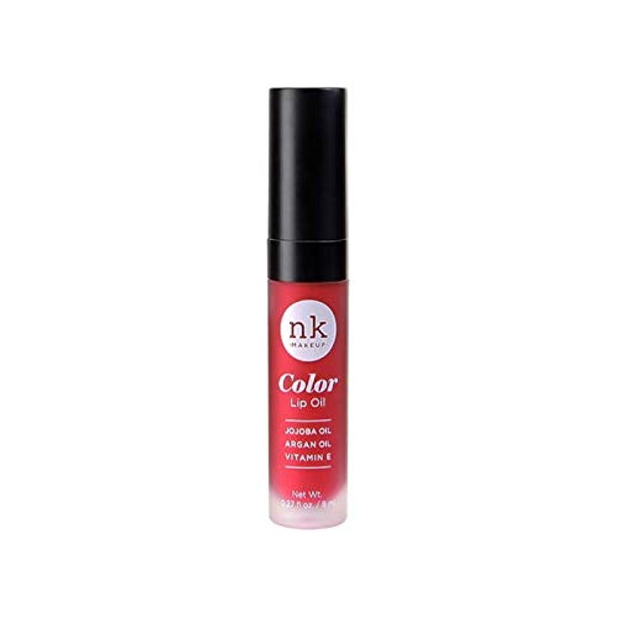 ナラーバー目を覚ます連続したNICKA K Color Lip Oil - Poppy (並行輸入品)