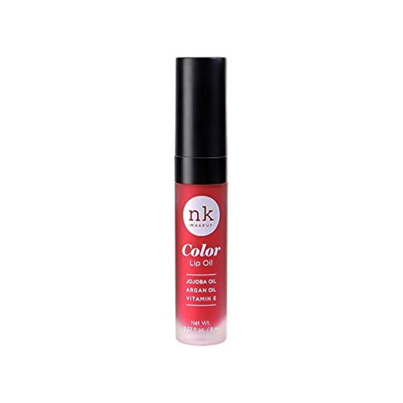 太陽緯度典型的なNICKA K Color Lip Oil - Poppy (並行輸入品)